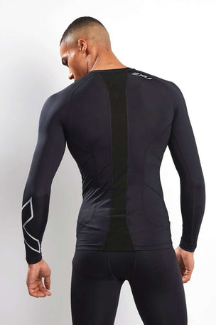 2XU Men's Long Sleeve Compression Top image 2 - The Sports Edit