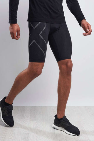 2XU Elite MCS Run Compression Short Black/Nero image 1 - The Sports Edit