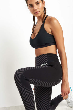 2XU Pattern Fitness Compression Tight image 3 - The Sports Edit