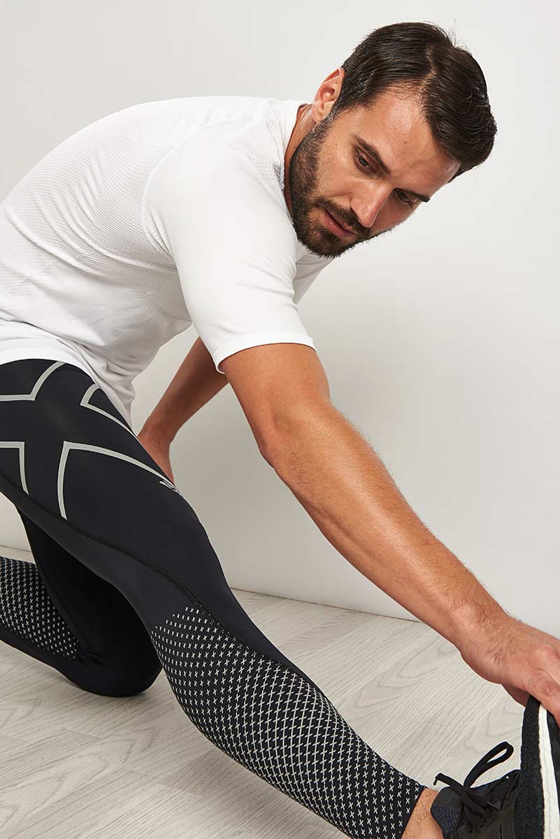 2XU Reflect - Reflective Compression Tights image 3 - The Sports Edit
