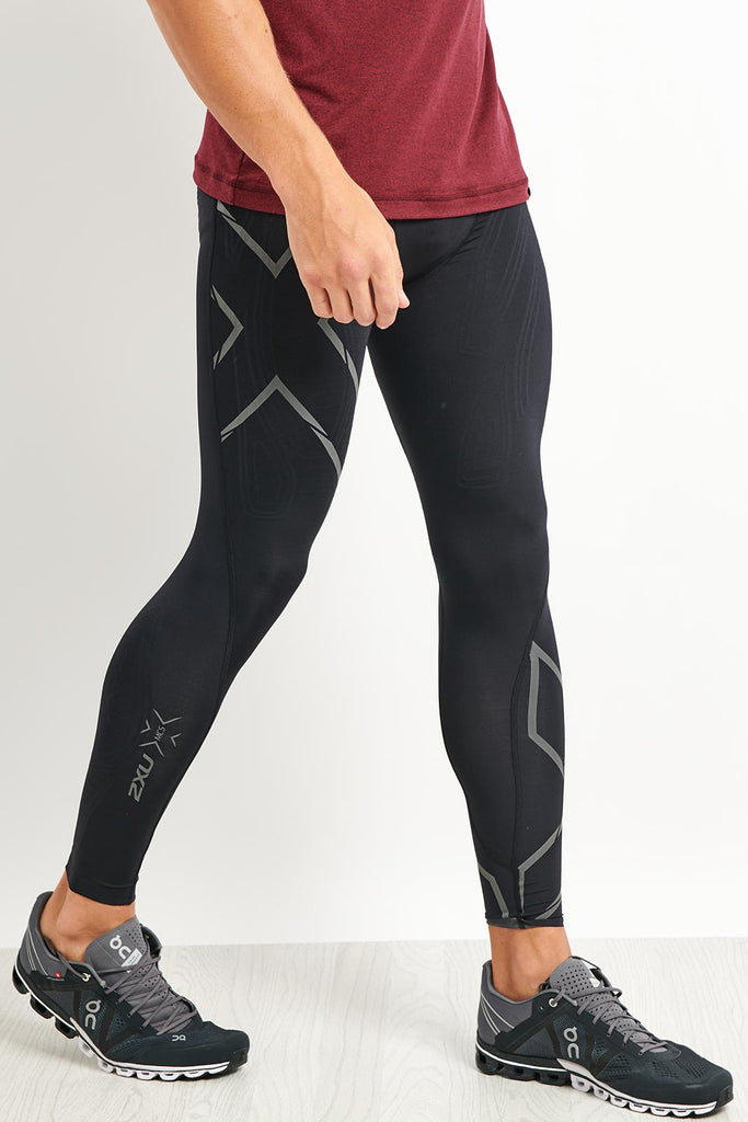 9781996e93 2XU MCS Run Compression Tights With Back Storage image 1 - The Sports Edit
