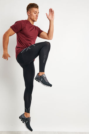 2XU MCS Run Compression Tights With Back Storage image 2 - The Sports Edit