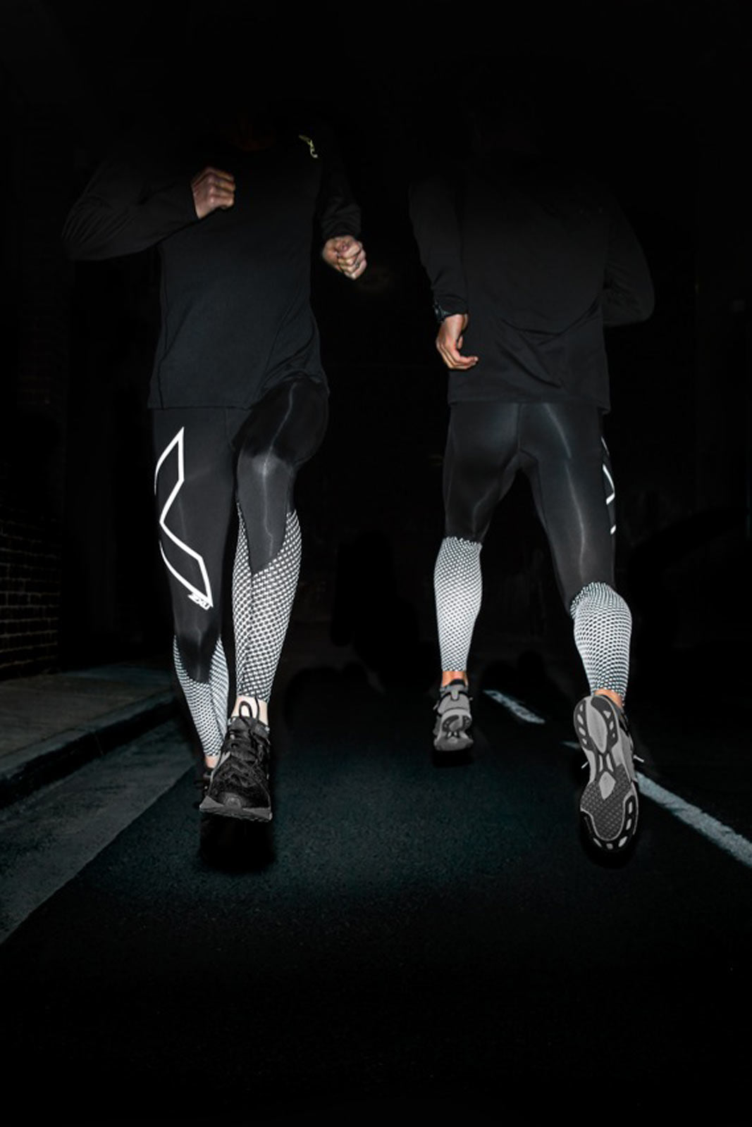 2XU Reflect - Reflective Compression Tights image 5 - The Sports Edit