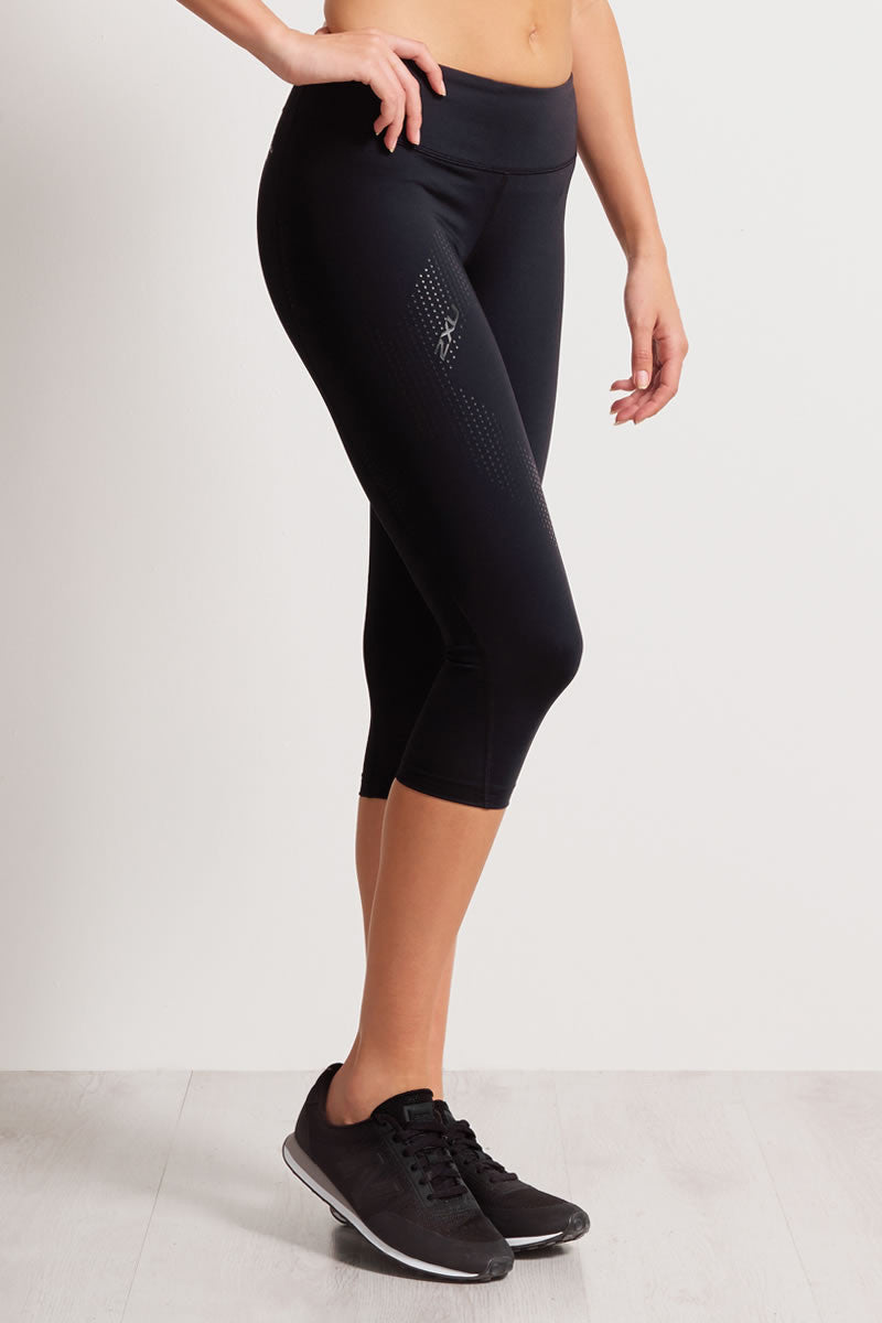 2XU Mid-Rise 3/4 Compression Tights image 2