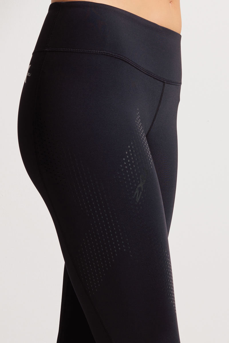 2XU Mid-Rise 3/4 Compression Tights image 2 - The Sports Edit