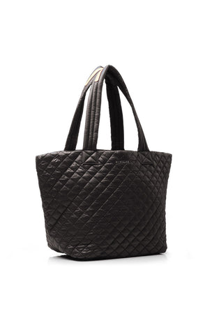 MZ Wallace Medium Metro Tote - Black Oxford image 2 - The Sports Edit