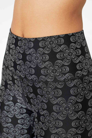 Terez Floral Glow Gear Super-High Band Leggings image 5 - The Sports Edit