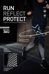 2XU Reflect - Reflective Compression Tights image 4 - The Sports Edit