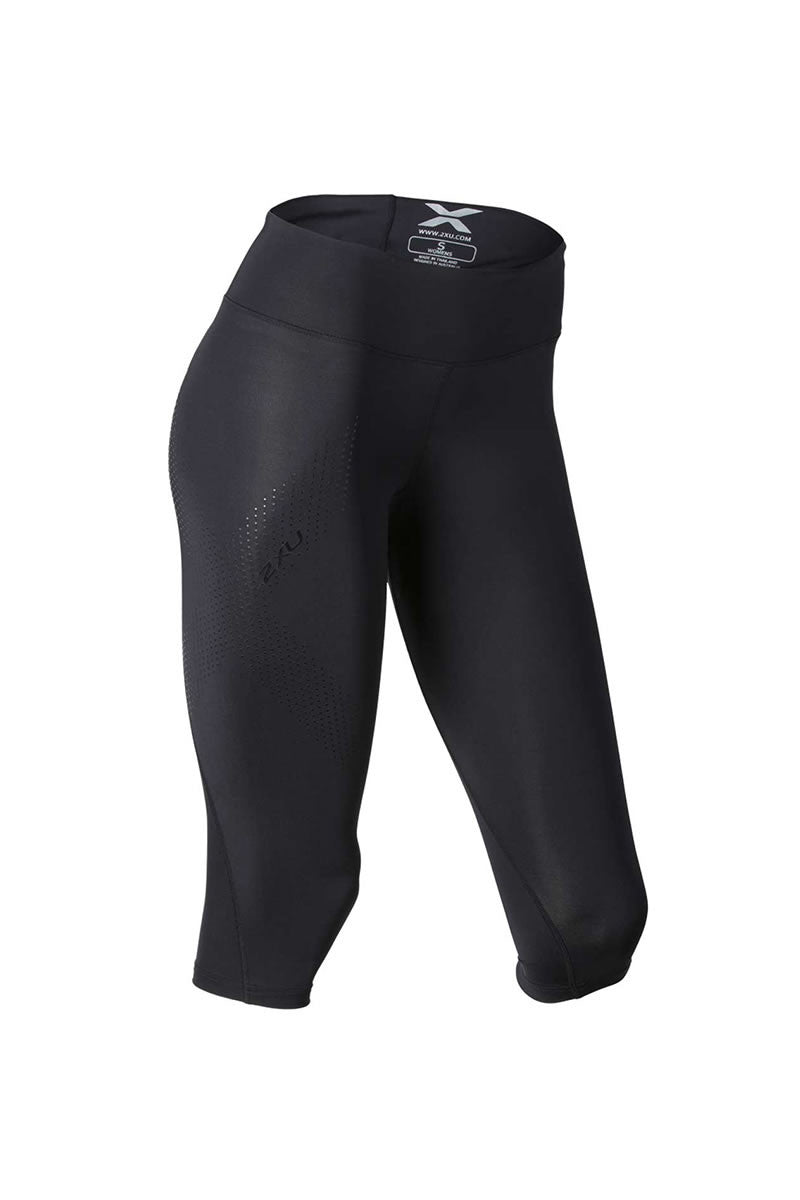2XU Mid-Rise 3/4 Compression Tights image 5 - The Sports Edit