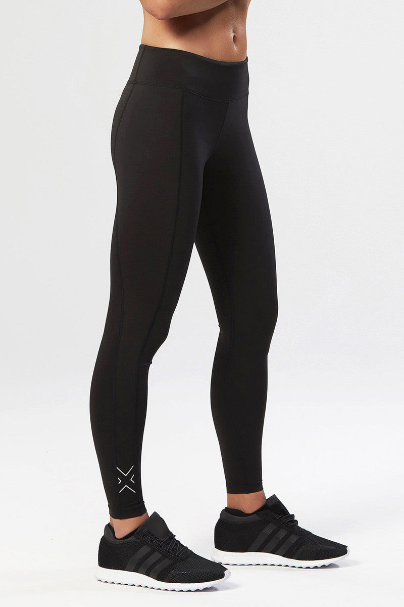 2XU Active Compression Tights Black/Silver image 1 - The Sports Edit