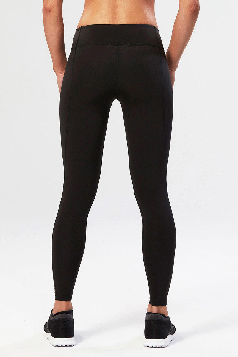 2XU Active Compression Tights Black/Silver image 3 - The Sports Edit