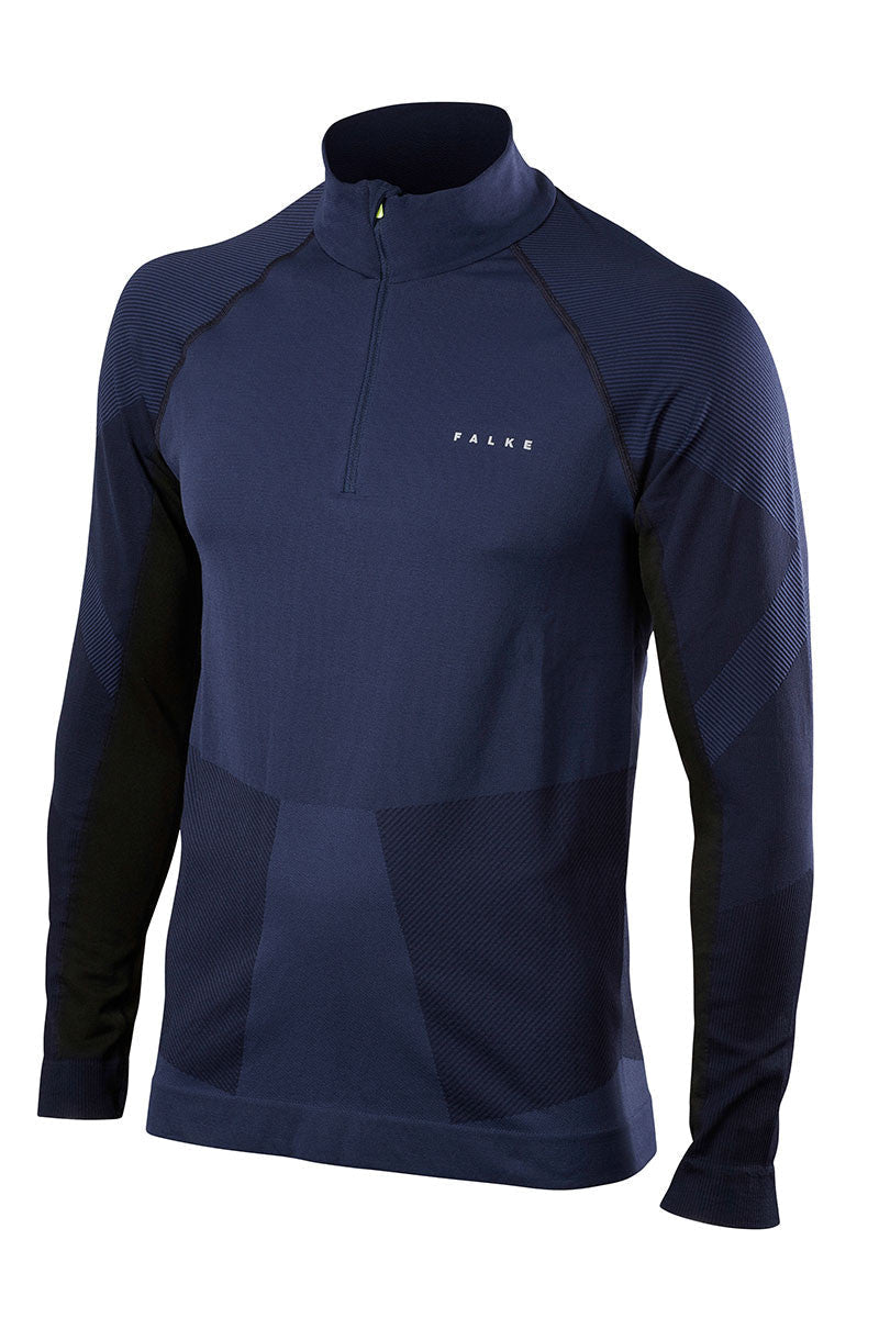 Falke Half-Zip Shirt - Space Blue image 5 - The Sports Edit