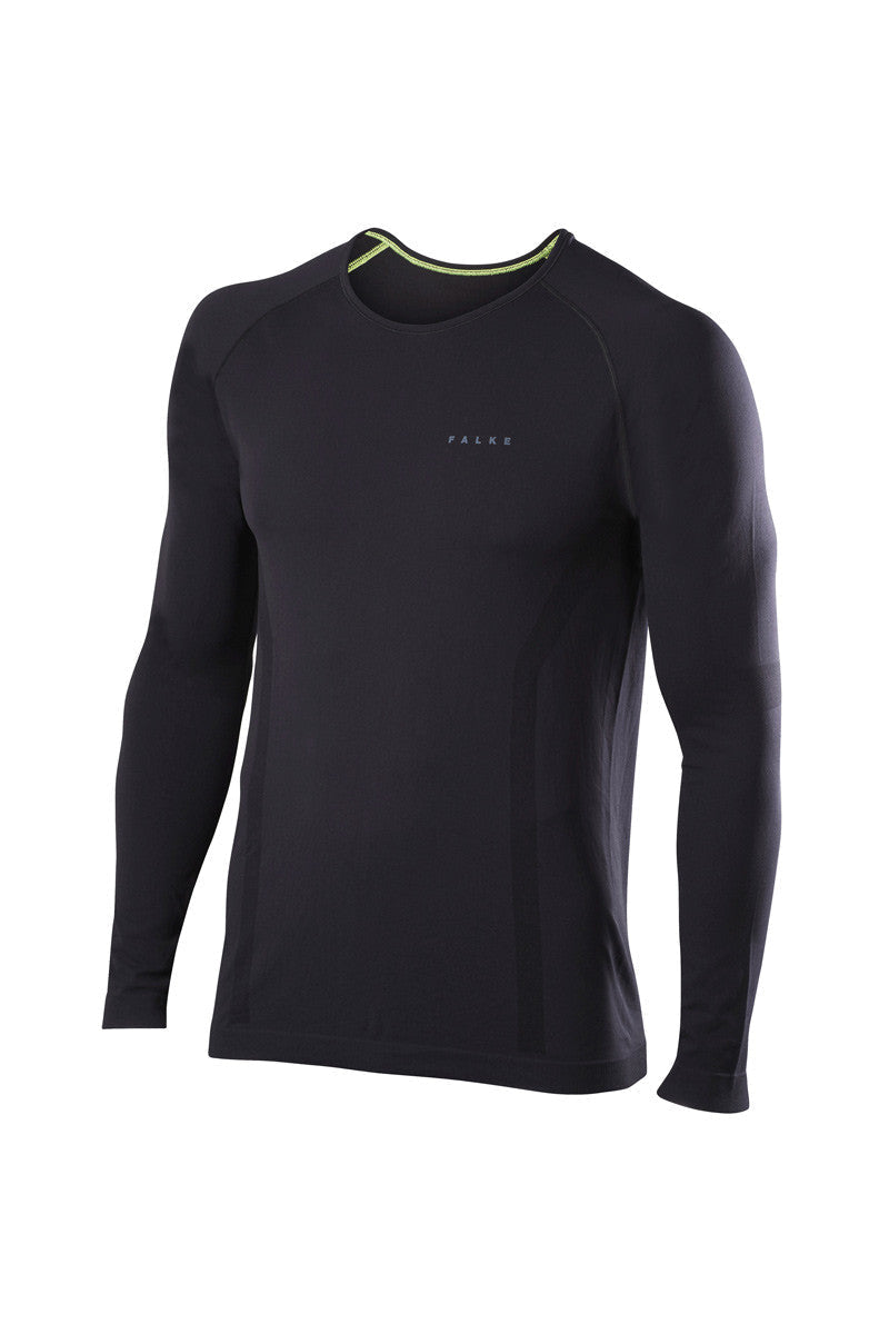 Falke Long-sleeved Comfort Shirt - Black image 5 - The Sports Edit