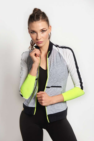 MONREAL Featherweight Jacket - Heather Grey image 1 - The Sports Edit
