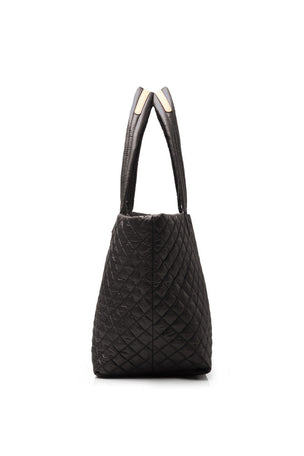 MZ Wallace Medium Metro Tote - Black Oxford image 3 - The Sports Edit