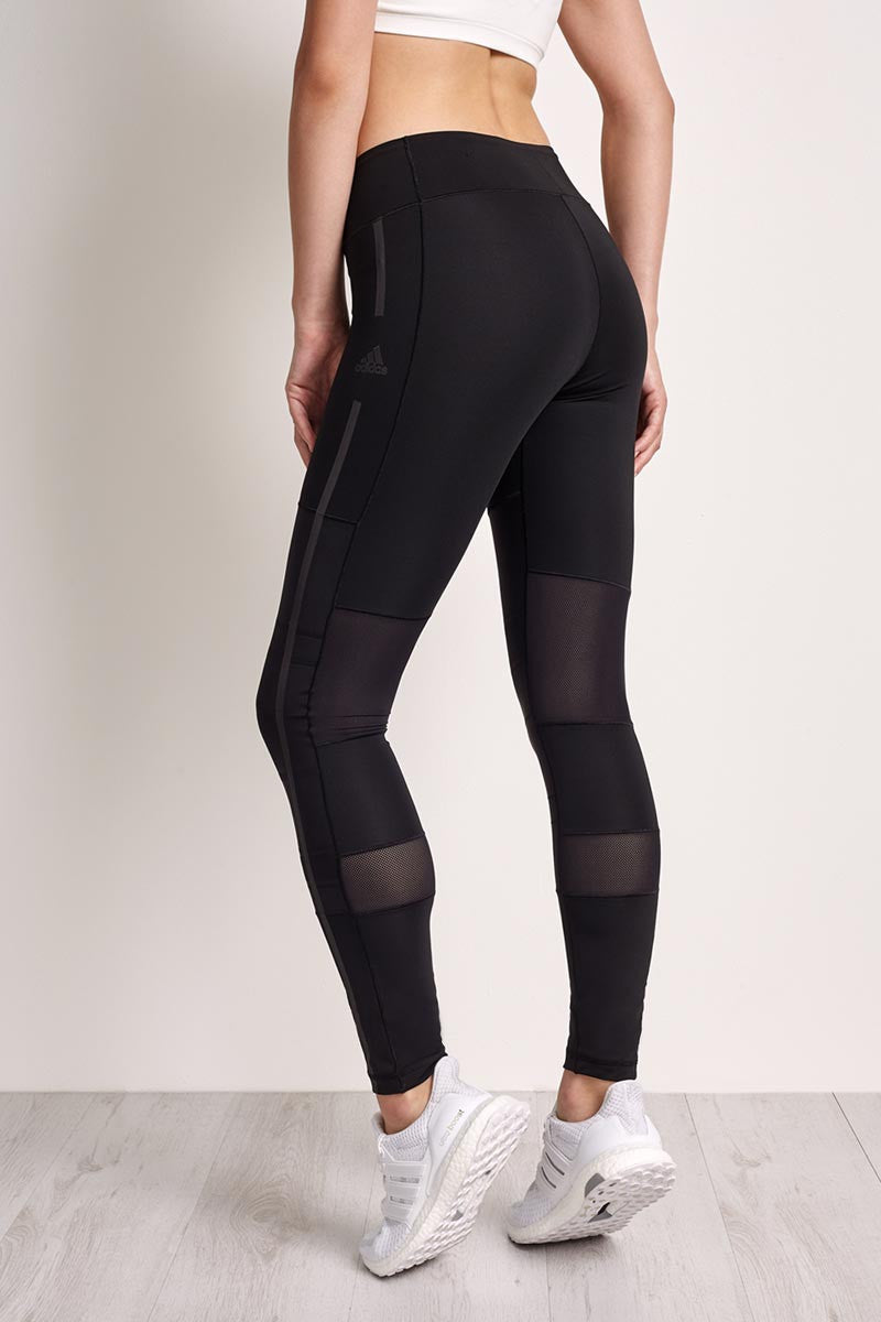 ADIDAS Wow Embossed Tight - Black image 2 - The Sports Edit