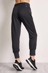 ADIDAS Beyond The Run Pants Black image 3 - The Sports Edit