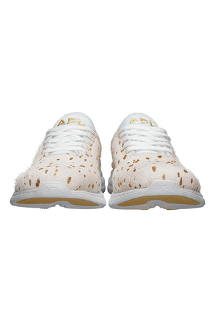 APL TechLoom Phantom Calf Hair - Cream/Gold image 4 - The Sports Edit