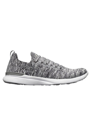 APL TechLoom Breeze - Heather Grey/Pristine/White image 1 - The Sports Edit