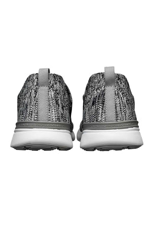 APL TechLoom Breeze - Heather Grey/Pristine/White image 3 - The Sports Edit
