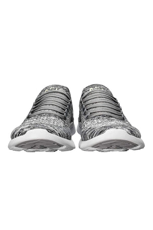 APL TechLoom Breeze - Heather Grey/Pristine/White image 4 - The Sports Edit
