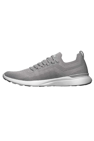 APL TechLoom Breeze - Cement/Metallic Silver/White image 2 - The Sports Edit