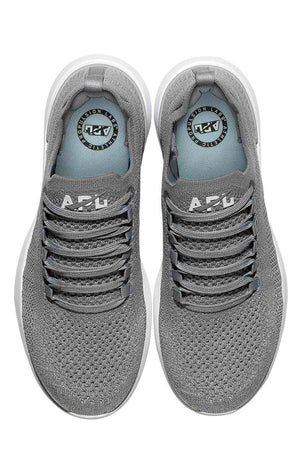 APL TechLoom Breeze - Cement/Metallic Silver/White image 5 - The Sports Edit