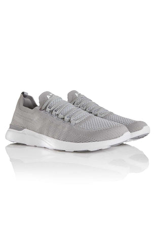 APL TechLoom Breeze - Cement/Steel Grey/White image 2 - The Sports Edit