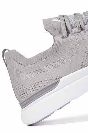 APL TechLoom Breeze - Cement/Steel Grey/White image 6 - The Sports Edit