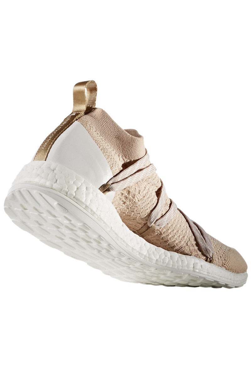 adidas X Stella McCartney Pure Boost X Bliss Coral/Copper Met/White image 3 - The Sports Edit
