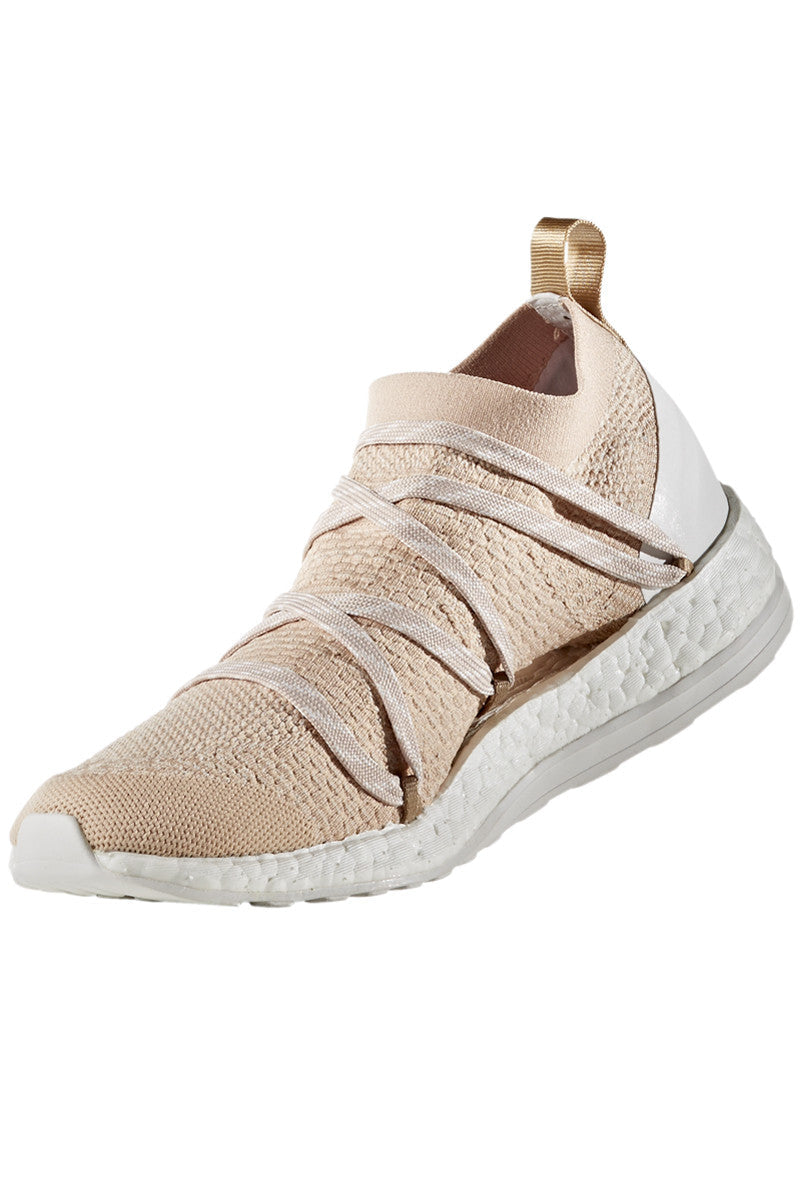 adidas X Stella McCartney Pure Boost X Bliss Coral/Copper Met/White image 2 - The Sports Edit