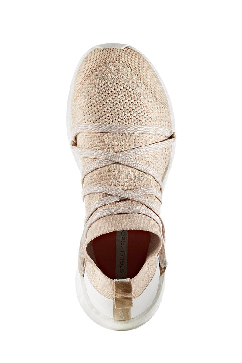 adidas X Stella McCartney Pure Boost X Bliss Coral/Copper Met/White image 6 - The Sports Edit