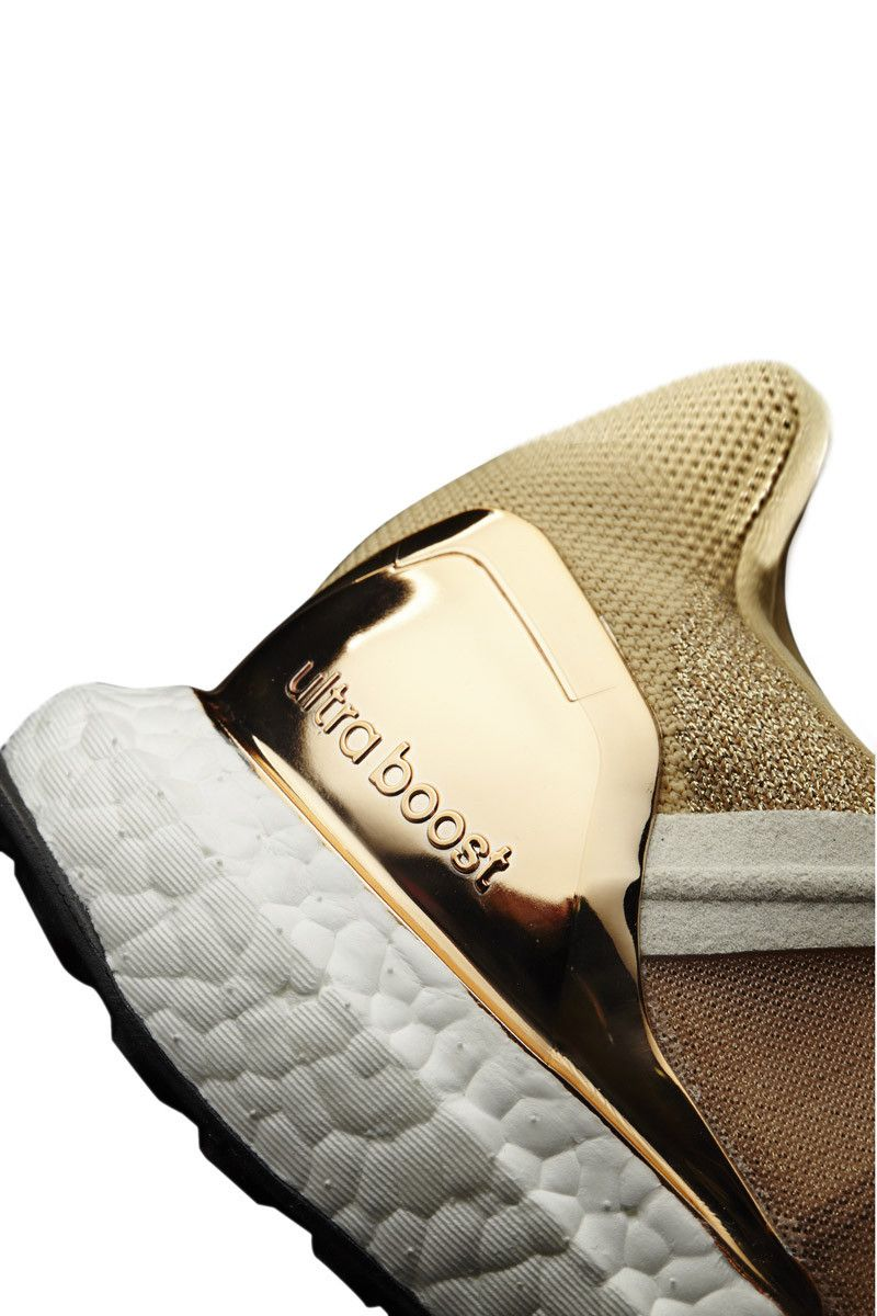 adidas X Stella McCartney Ultra Boost Copper Met/White image 5 - The Sports Edit