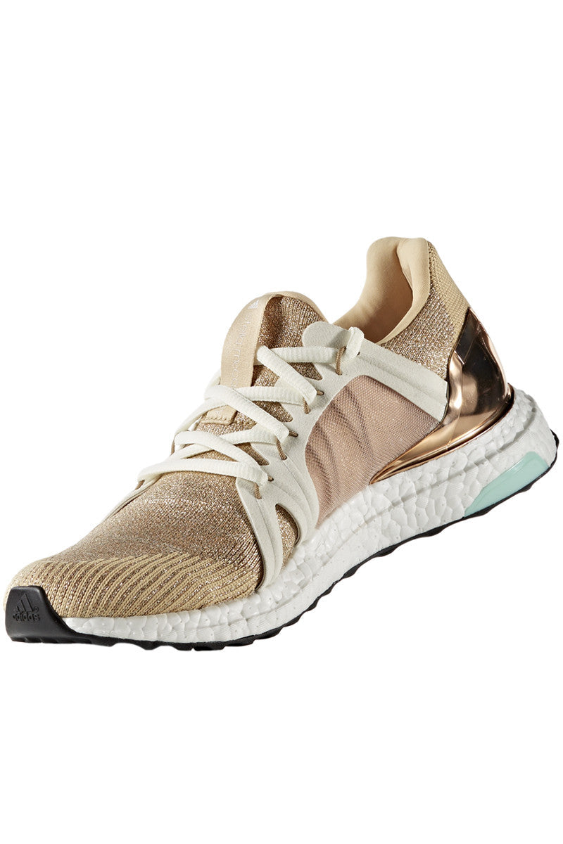 adidas X Stella McCartney Ultra Boost Copper Met/White image 2 - The Sports Edit