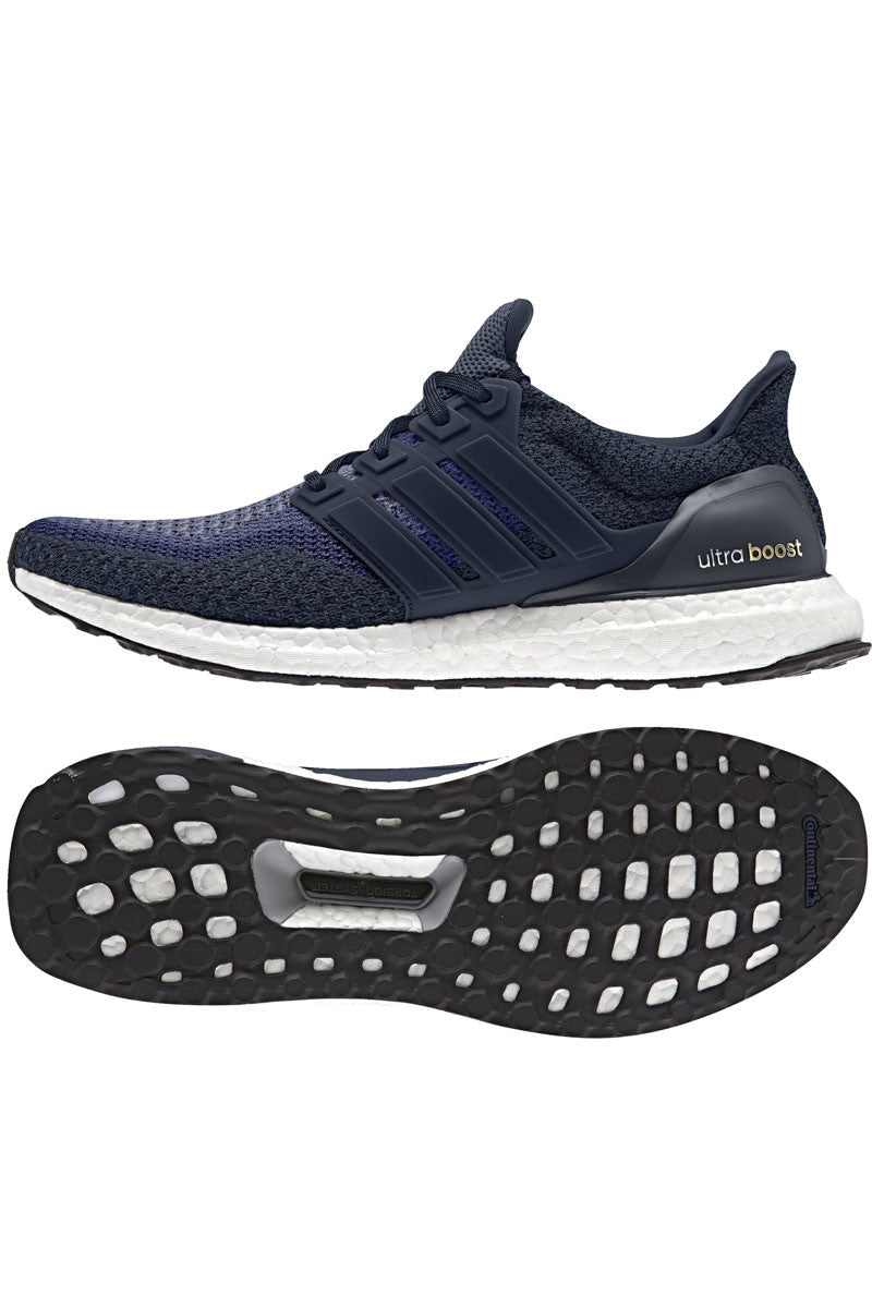 ADIDAS Ultra Boost Navy - Men's image 4 - The Sports Edit