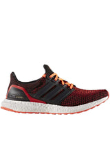 ADIDAS Ultra Boost Core Black/ Red - Men's image 2 - The Sports Edit
