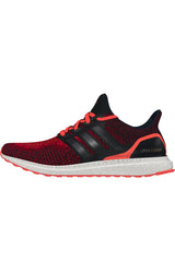ADIDAS Ultra Boost Core Black/ Red - Men's image 1 - The Sports Edit
