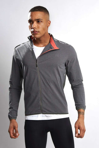 Ashmei Lite Jacket - Grey image 2 - The Sports Edit