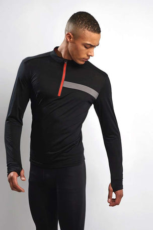 Ashmei Long Sleeve Classic Jersey Top - Black image 1 - The Sports Edit