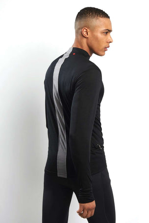 Ashmei Long Sleeve Classic Jersey Top - Black image 3 - The Sports Edit