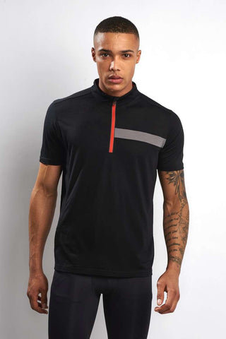 Ashmei Short Sleeve Classic Jersey - Black image 1 - The Sports Edit