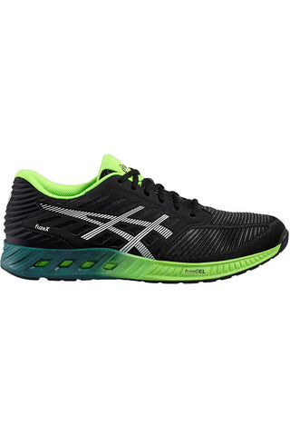 ASICS FuzeX Black/Silver/Green M image 1 - The Sports Edit