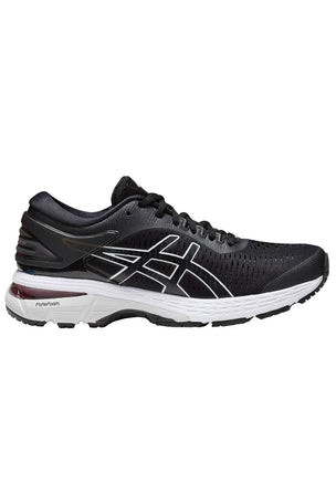 ASICS Gel-Kayano 25 - Black/Glacier Grey | Women's image 1 - The Sports Edit