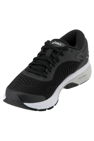 ASICS Gel-Kayano 25 - Black/Glacier Grey | Women's image 2 - The Sports Edit