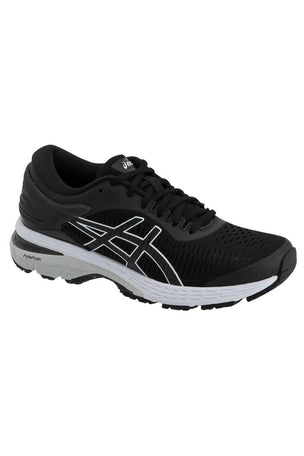 ASICS Gel-Kayano 25 - Black/Glacier Grey | Women's image 3 - The Sports Edit