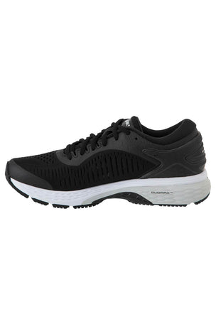 ASICS Gel-Kayano 25 - Black/Glacier Grey | Women's image 4 - The Sports Edit