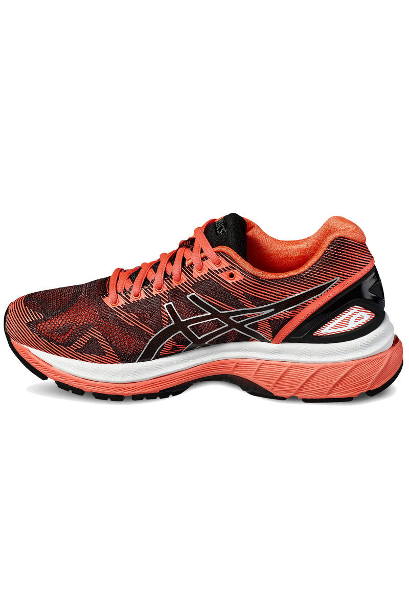 ASICS Gel Nimbus 19 Black/Diva Pink image 2 - The Sports Edit