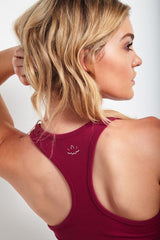 Beyond Yoga Classic Racerback Merlot image 3 - The Sports Edit