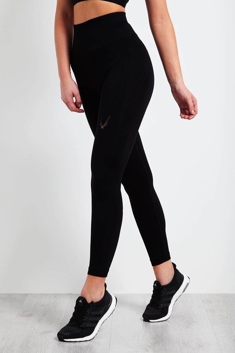 Lucas Hugh Technical Knit 7/8 Leggings image 1 - The Sports Edit