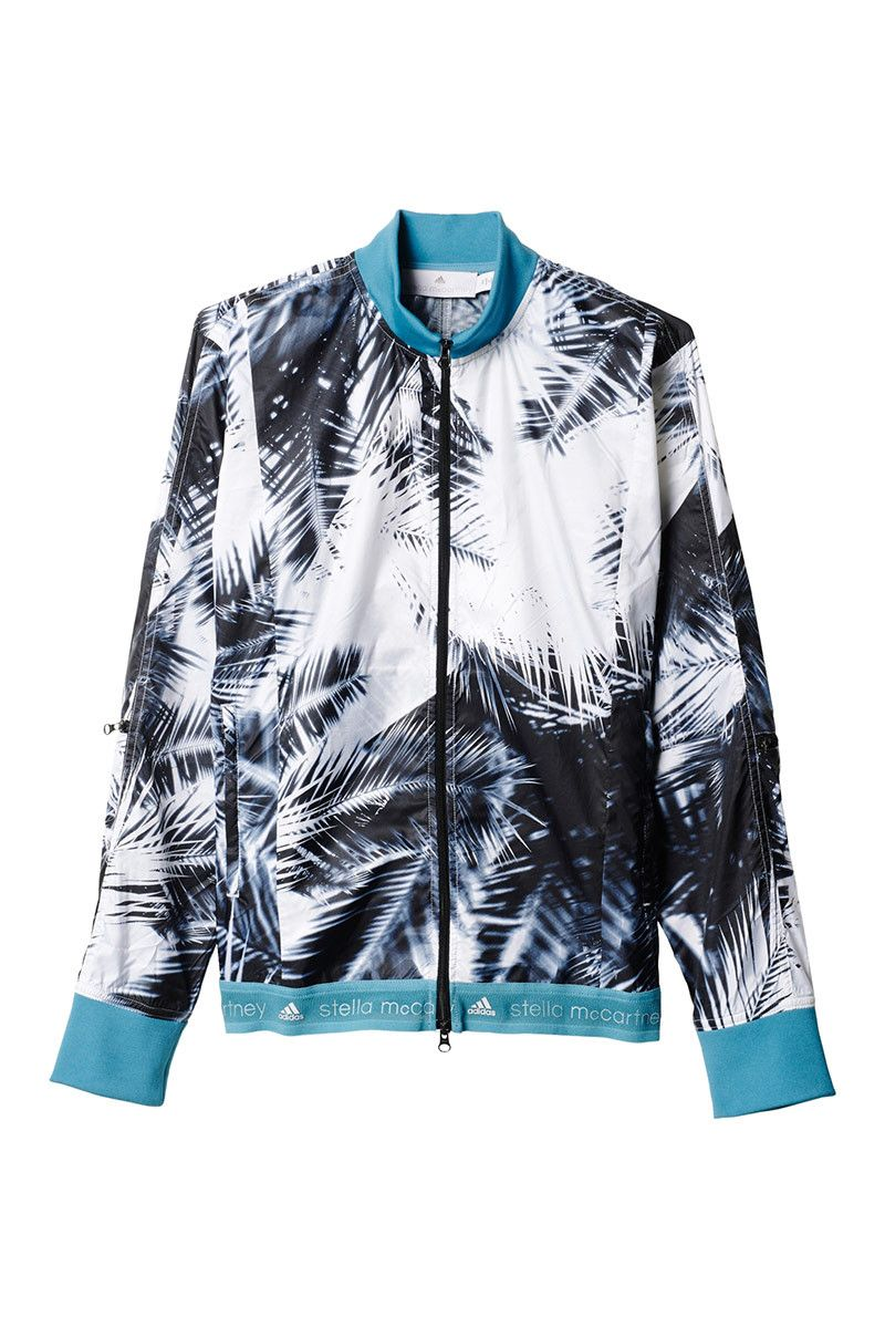 adidas X Stella McCartney Run Palm Jacket Black/White image 5